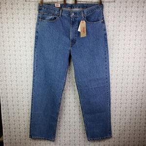 Levis 550 Denim Blue Jeans Pants Size 40x32